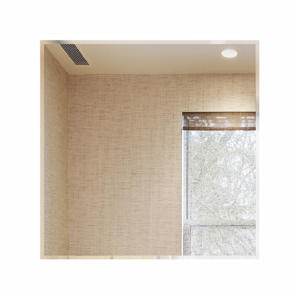 18 in. Square Beveled Polished Frameless Decorative Wall Mirror With Hooks