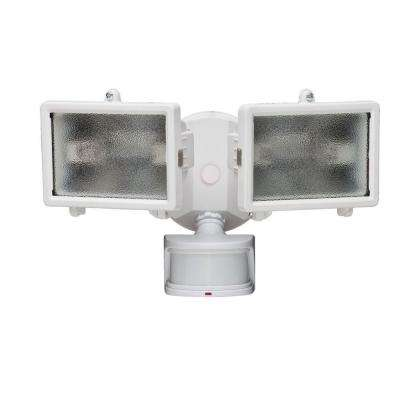 270-Degree White Motion Outdoor Security-Lighting