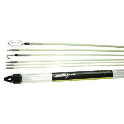 34 ft. Glow Fish Rod Versa Kit