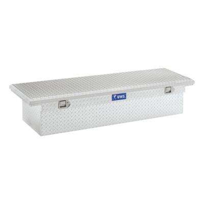 69 in. Aluminum Single Lid Crossover Tool Box with Low Profile