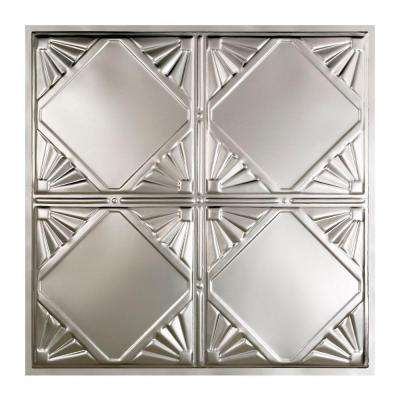 Erie 2 ft. x 2 ft. Lay-in Tin Ceiling Tile in Unfinished