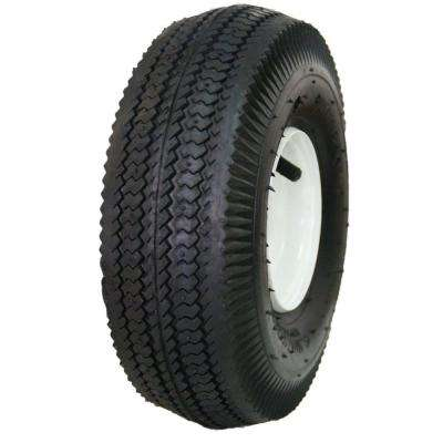 Sawtooth 25 PSI 4.1 in. x 3.5-4 in. 4-Ply Tire and Wheel