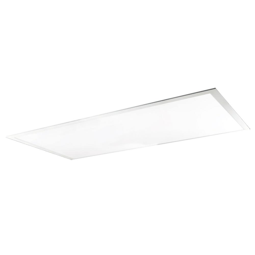 1 ft. x 4 ft. 30-Watt Dimmable White Edge-Lit Flat Panel