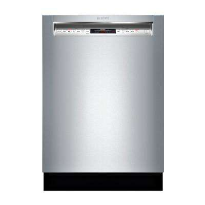 800 Series Front Control Tall Tub Dishwasher in Stainless Steel w/ Stainless Steel Tub and EasyGlide Rack System, 42dBA