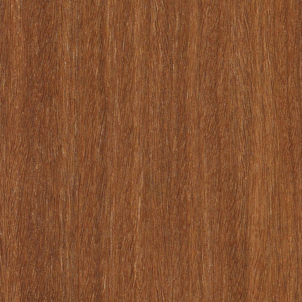 Take Home Sample - Matte Light Cumaru 3/8 in. Thick Click Lock Hardwood Flooring - 5 in. x 7 in.