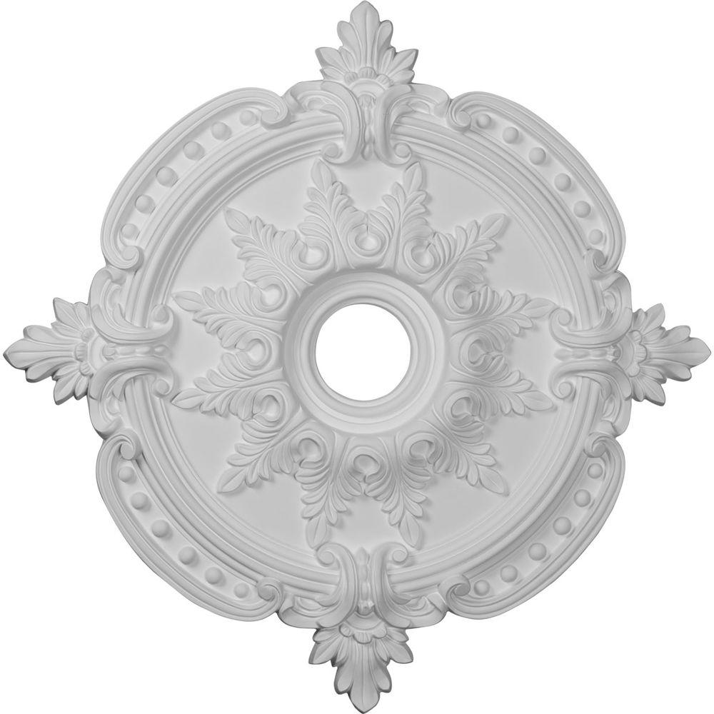 medallion ekena in home p millwork medallions ceiling linus the