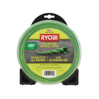 0.080 in. x 160 ft. Premium Spiral Cordless and Gas Trimmer Line