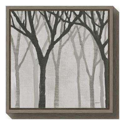 Floater Frame - Trees - Canvas Art - Wall Art - The Home Depot