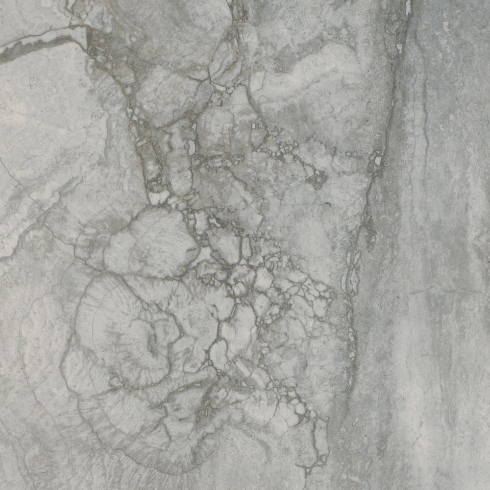 Bernini Carbone 18 in. x 18 in. Glazed Porcelain Floor and