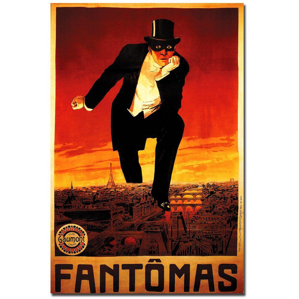 32 in. x 24 in. Fantomas Canvas Art