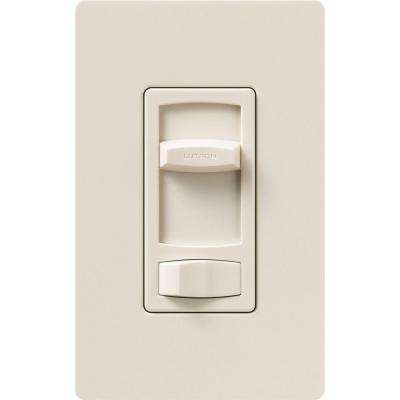 Skylark Contour 600-Watt Single-Pole/3-Way Preset Eco-Dimmer - Light Almond