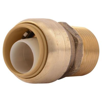 3/4 in. Push-to-Connect x MIP Brass Adapter Fitting