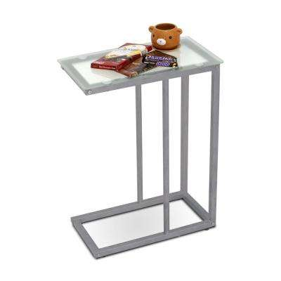 Kaca Clear Glass Snack Table