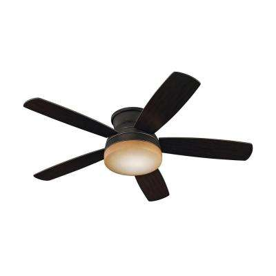 Traverse 52 in. Roman Bronze Ceiling Fan