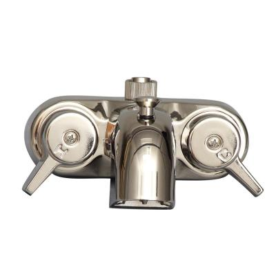 2-Handle Claw Foot Tub Faucet in Polished Nickel