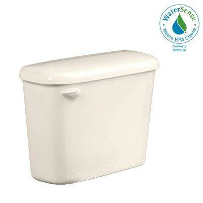 Colony 1.28 GPF Single Flush Toilet Tank Only for 10 in. Rough in Linen