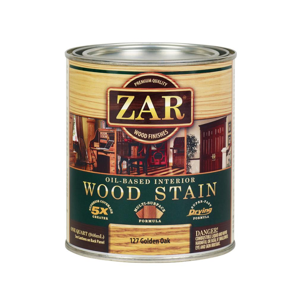 ZAR 127 1 qt. Golden Oak Wood Interior Stain (2-Pack)