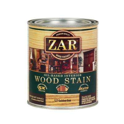 127 1 qt. Golden Oak Wood Interior Stain (2-Pack)