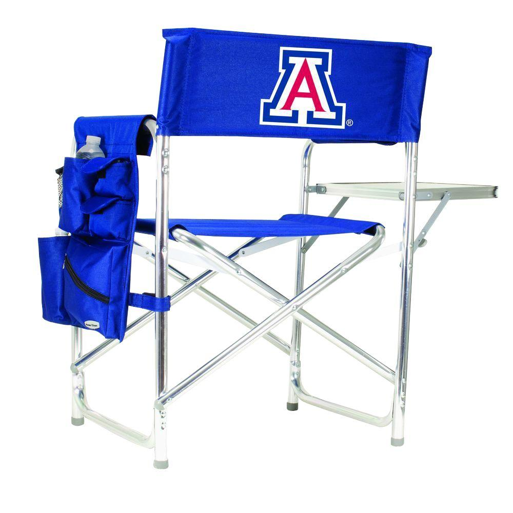 University of Arizona Navy Sports Chair with Digital Logo