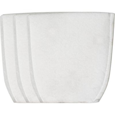 Cloth Vacuum Filter (3-Pack) for use with Makita XLC02, LC01, and BCL180 Cordless Vacuums