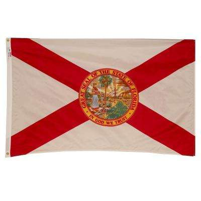 3 ft. x 5 ft. Nylon Florida State Flag