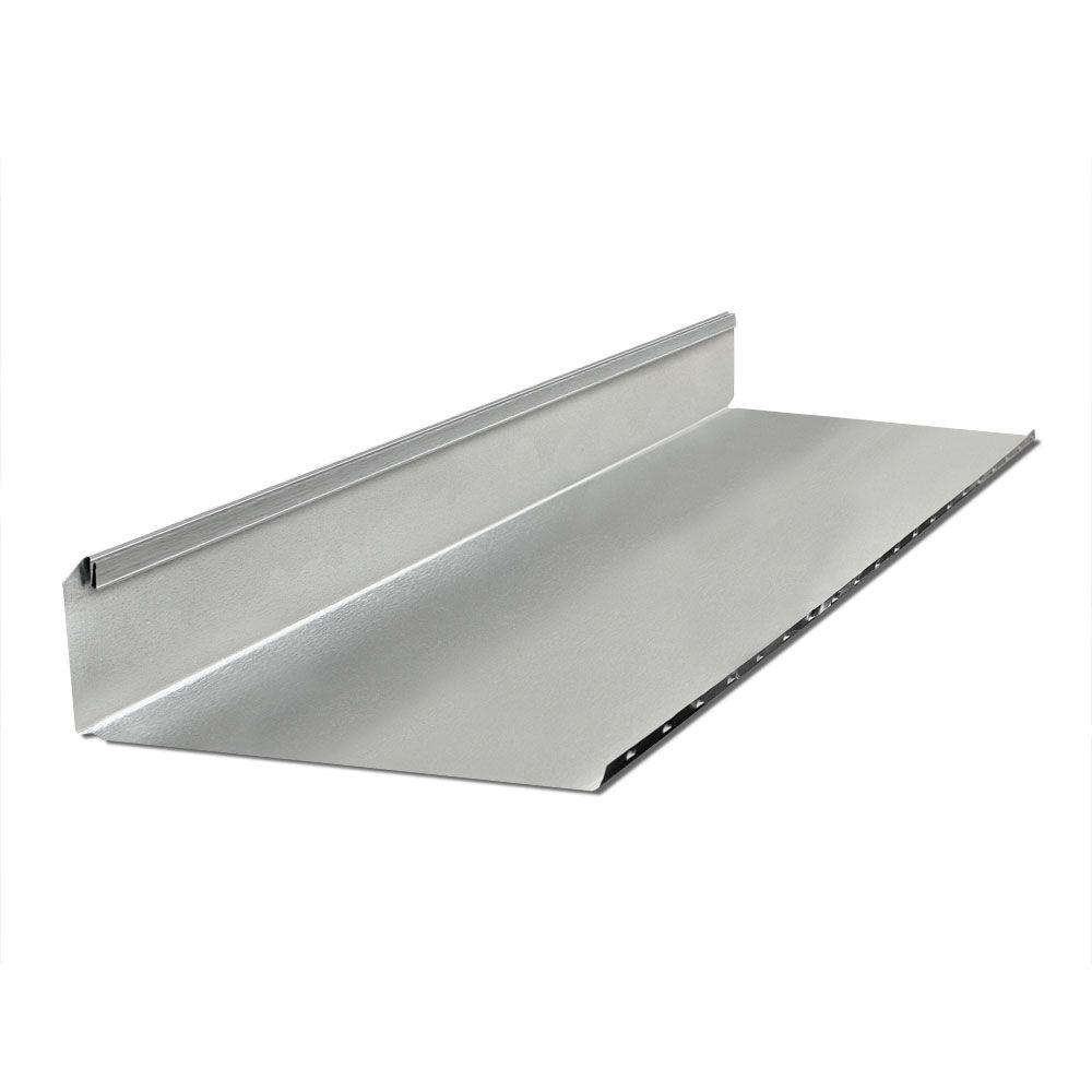 null 3.25 in. x 14 in. x 3 ft. Half Section Rectangular Stack Duct