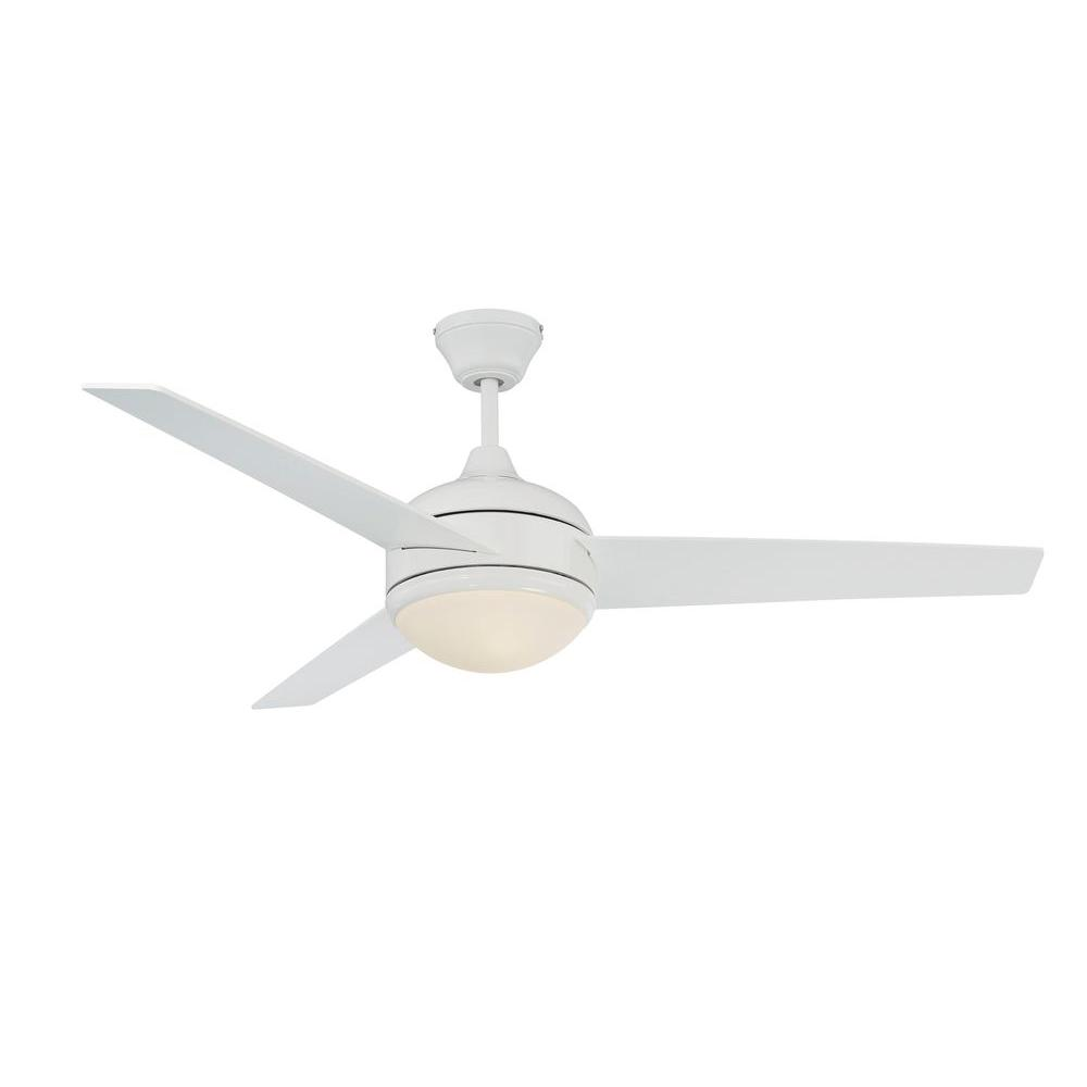Skylark Series 52 in. Indoor White Ceiling Fan