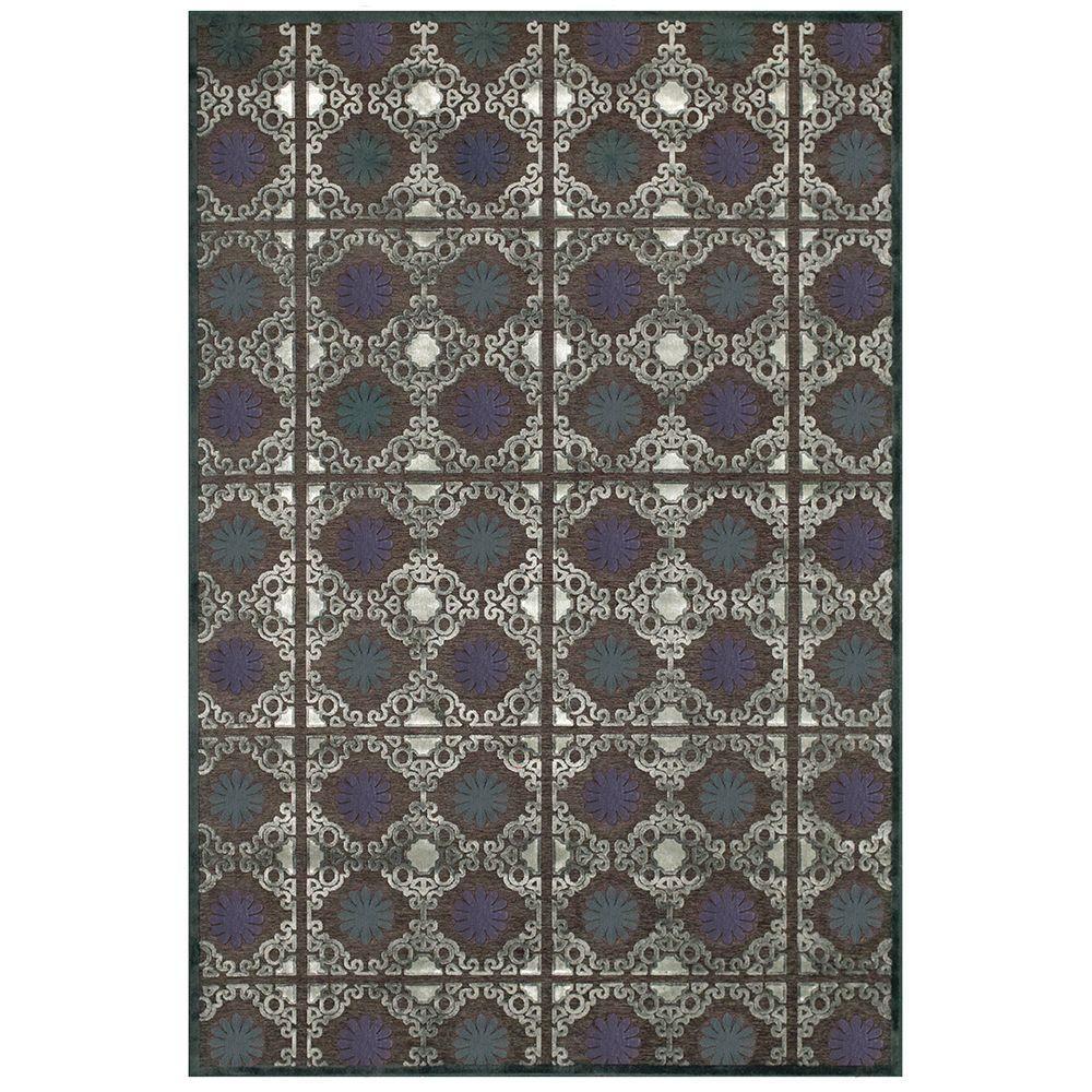 Feizy Saphir Callo Dark Gray/Charcoal 7 ft. 6 in. x 10 ft. 6 in. Indoor Area Rug