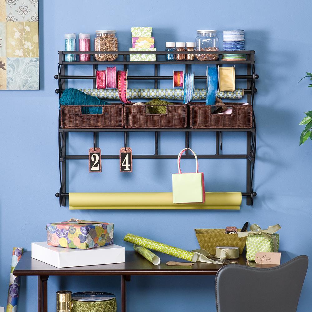 Southern Enterprises Black Storage Furniture