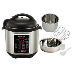 GoWISE USA 8 Qt. Electric Pressure Cooker with 12-Presets by GoWISE USA