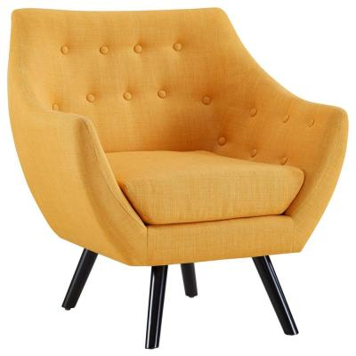 Mustard Allegory Arm Chair