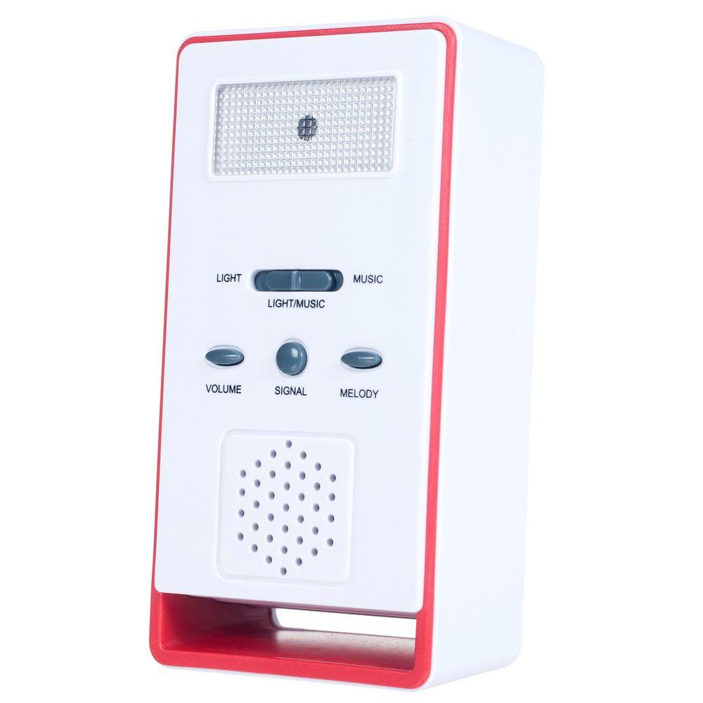 Wireless Remote Doorbell Chime and Push Button