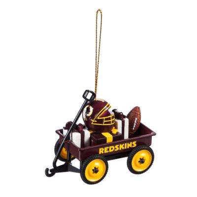 Washington Redskins 1-3/4 in. NFL Team Wagon Christmas Ornament