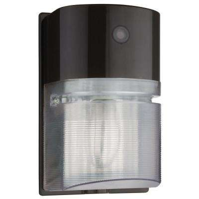 Bronze Metal-Halide Outdoor Wall-Mount Wall Pack Light