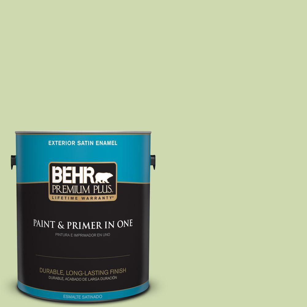 1-gal. #P370-3 Chameleon Skin Satin Enamel Exterior Paint