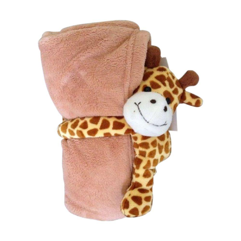 Ashford Textiles Giraffe Polyester Micro Plush Throw
