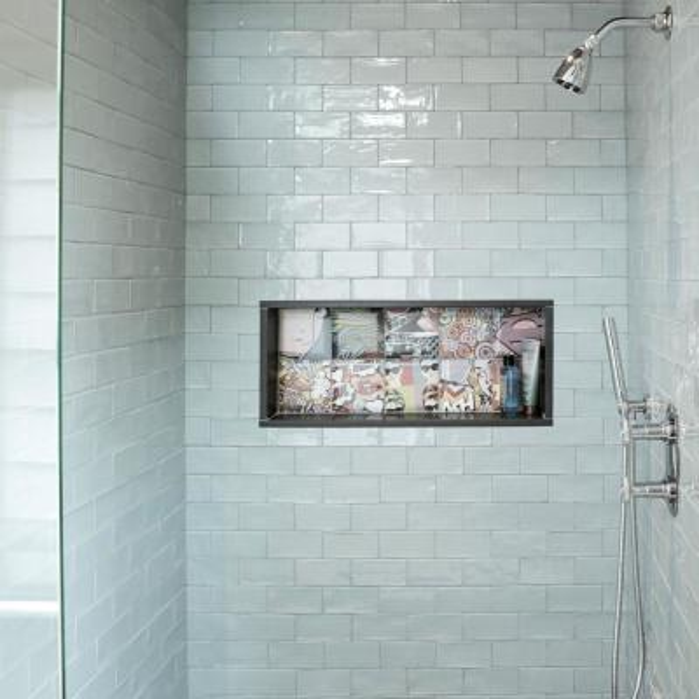 Bombato Decor York 5-7/8 in. x 5-7/8 in. Ceramic Wall Tile (5.62 sq. ft. / case)
