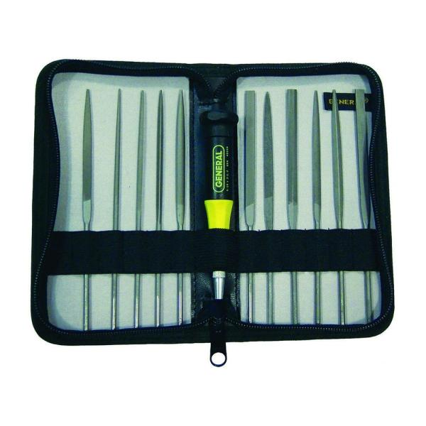Swiss Pattern Needle File Set (12-Piece)