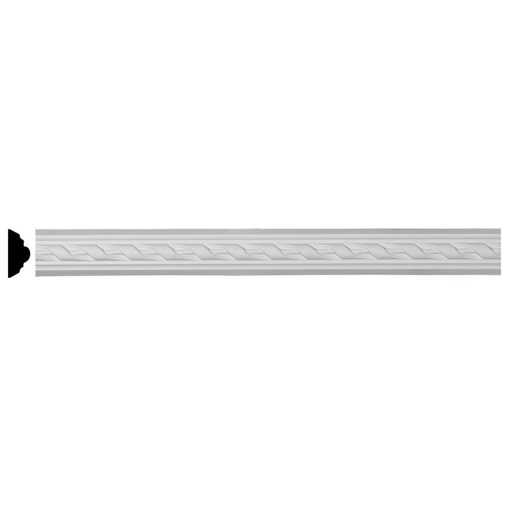 3/4 in. x 2 in. x 94-1/2 in. Polyurethane Valeriano Ribbon