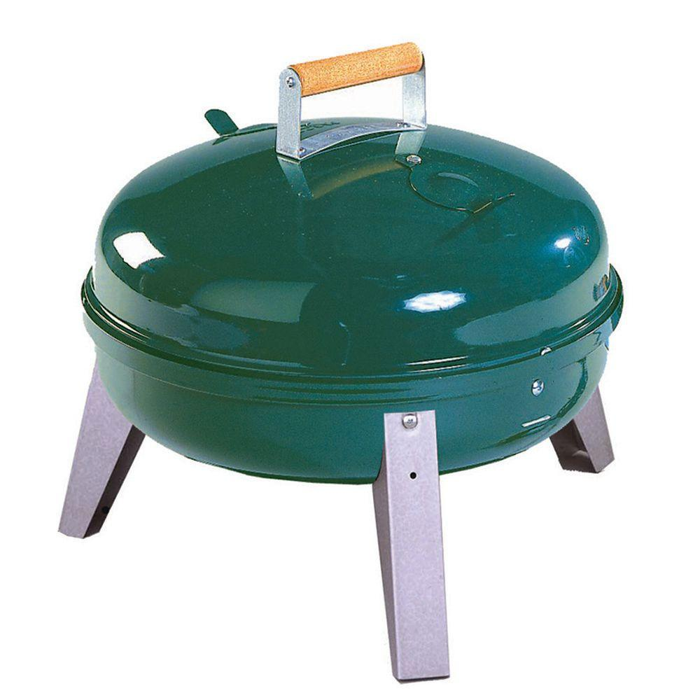 Lock N' Go Portable Charcoal Grill in Green