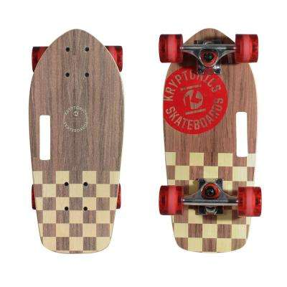 Stubby 19 in. Cruiser Cali-Authentic Skateboard