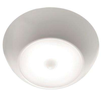 UltraBright Motion Activated 300-Lumen Battery Operated LED Ceiling Light