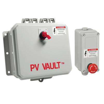 PV Vault - 2 in. 2-Out Bypass Box
