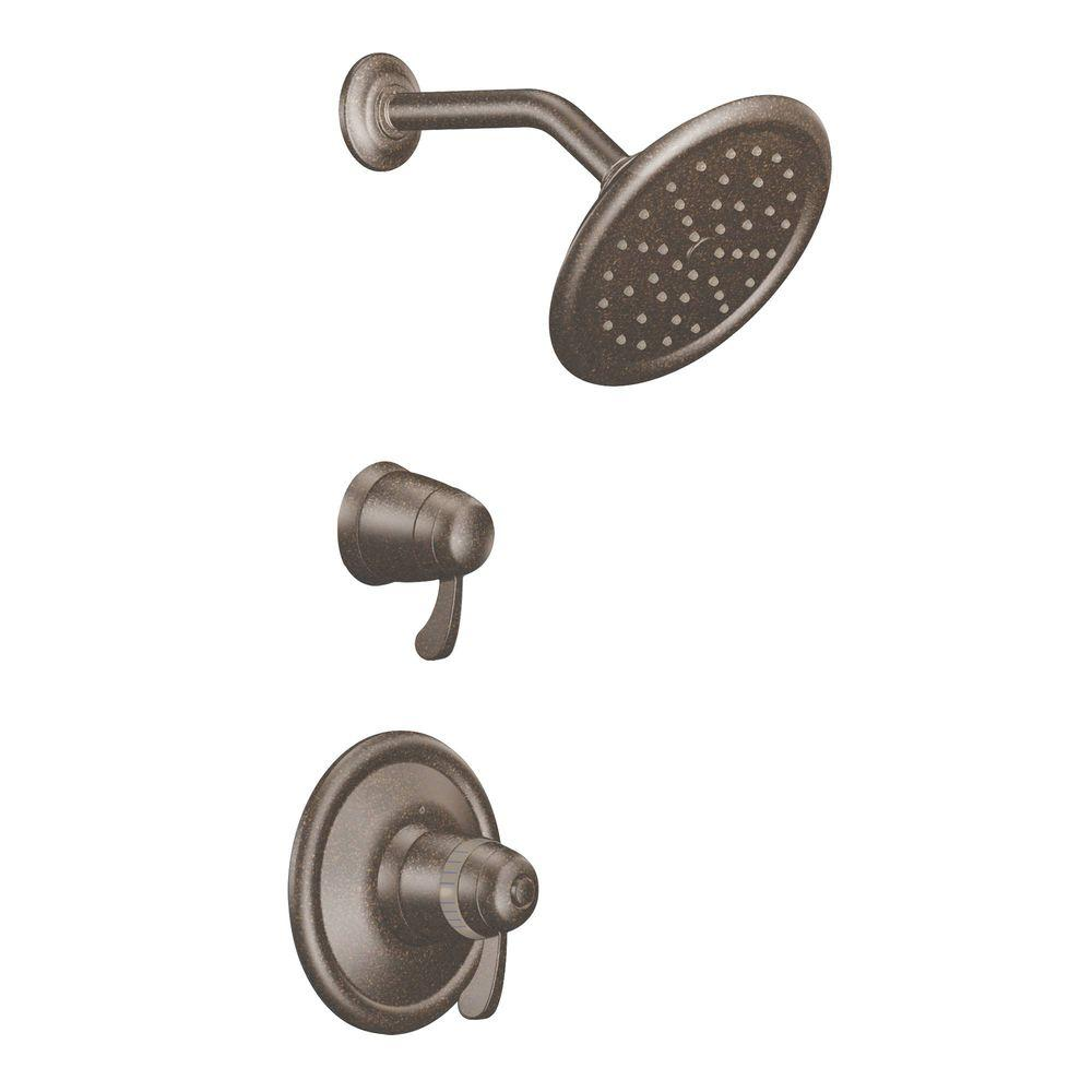 MOEN ExactTemp Shower Trim Only Kit In Oil Rubbed Bronze (Valve Not  Included)