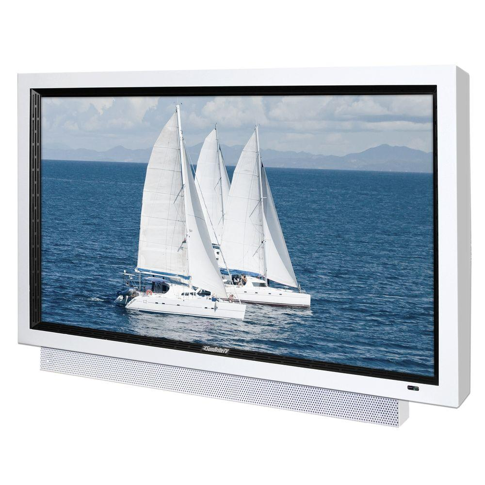 SunBriteTV Pro Series Weatherproof 55 in. Class LCD 1080P 120Hz Outdoor HDTV - White-DISCONTINUED
