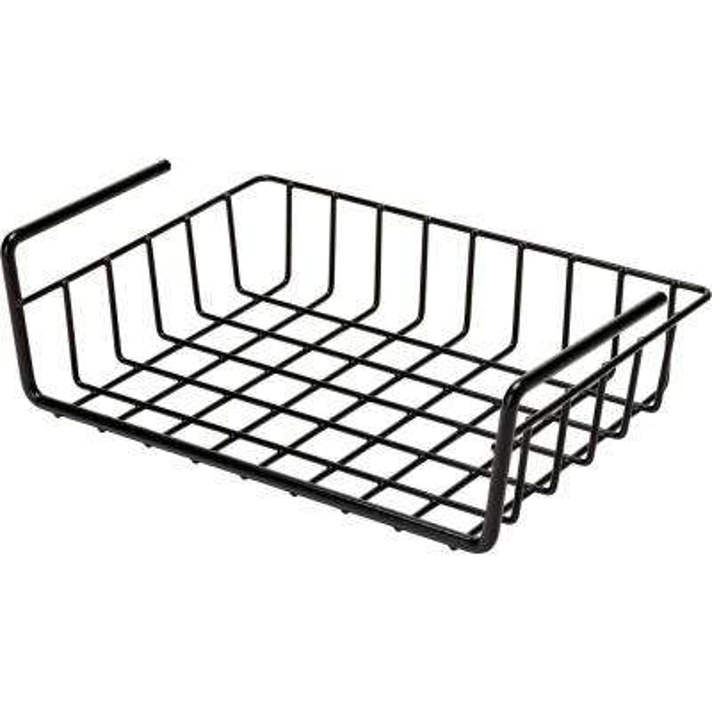 2.5 in. x 12 in. x 9 in. Hanging Shelf Basket