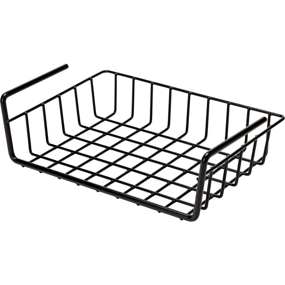 snapsafe 2 5 in  x 12 in  x 9 in  hanging shelf basket-76012