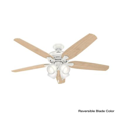 Channing 60 in. LED Indoor Fresh White Ceiling Fan
