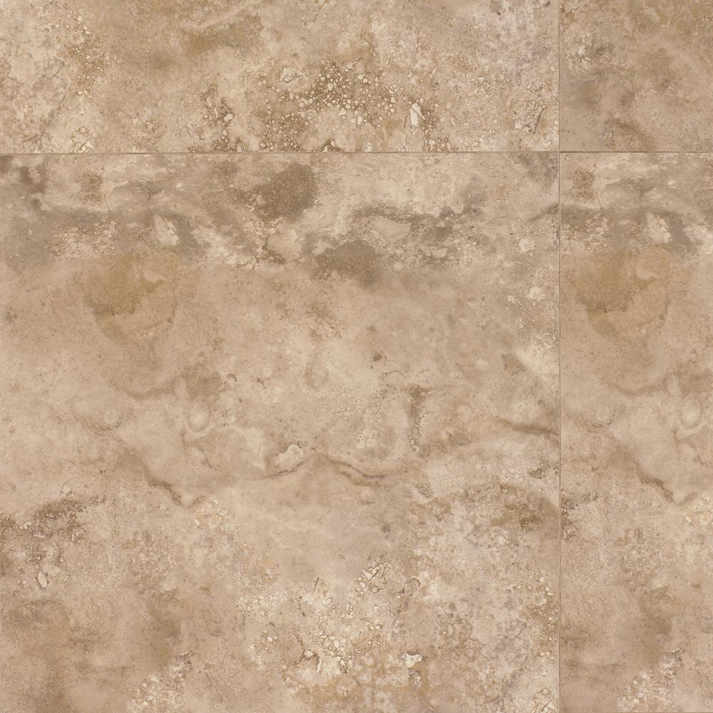 Mohawk Treviso Beige 8 mm Thick x 15.6 in. Width x 15.6 in. Length Laminate Tile Flooring (16.88 sq. ft. / case)-DISCONTINUED