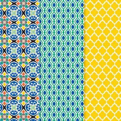 12 in. x 16 in. Decou-Page Paper Moroccan (3-Pack)